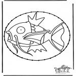 Sy-kort - Stitchingcard Pokemon