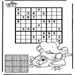 Håndarbejde - Sudoku Airplane