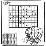 Håndarbejde - Sudoku balloon