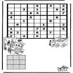 Håndarbejde - Sudoku Cars