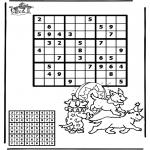 Håndarbejde - Sudoku Circus