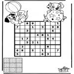 Håndarbejde - Sudoku dalmatians