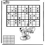 Håndarbejde - Sudoku Diddl 1