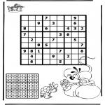 Håndarbejde - Sudoku Diddl 2