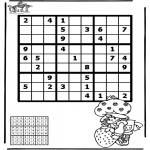 Håndarbejde - Sudoku girl