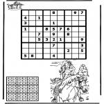 Håndarbejde - Sudoku horseriding