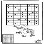 Håndarbejde - Sudoku ice skating