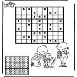 Håndarbejde - Sudoku Jip and Janneke