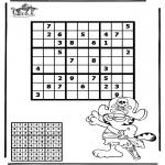 Håndarbejde - Sudoku pirate