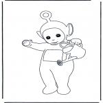Børne-malesider - Teletubbies 2