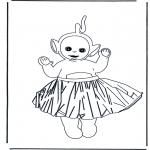 Børne-malesider - Teletubbies 3