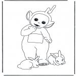 Børne-malesider - Teletubbies 5