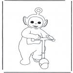 Børne-malesider - Teletubbies 6