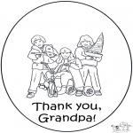 Håndarbejde - Thanks grand pa