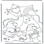 Børne-malesider - The Care Bears 1