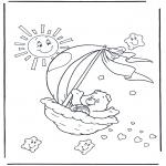Børne-malesider - The Care Bears 2