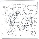 Børne-malesider - The Care Bears 5