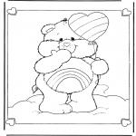 Børne-malesider - The Care Bears 6
