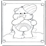 Børne-malesider - The Care Bears 7
