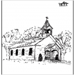 Bibel-malesider - The church 2