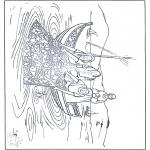 Bibel-malesider - The great catch of fish 1
