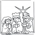 Bibel-malesider - Three wise men 2