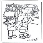 Børne-malesider - To school 4