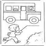 Børne-malesider - To school 5