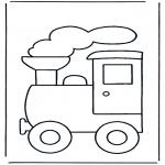 Børne-malesider - Train