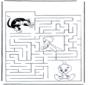 Tweety labyrinth