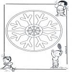 Mandala-malesider - Two mandalas 11