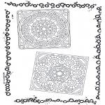 Mandala-malesider - Two mandalas 5