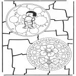 Mandala-malesider - Two mandalas 8
