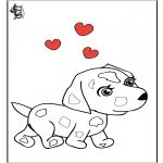 Tema-malesider - Valentine Dog