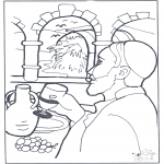 Bibel-malesider - Water became wine