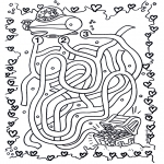 Håndarbejde - Water labyrinth