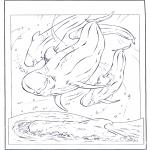 Dyre-malesider - White dolphin