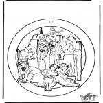 Bibel-malesider - Windowpicture Daniel