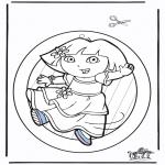 Håndarbejde - Windowpicture Dora 2