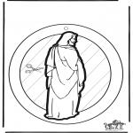 Bibel-malesider - Windowpicture Jesus