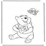Sjove figurer - Winnie the Pooh 1