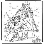 Vinter-malesider - Winter Barbie