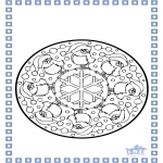 Vinter-malesider - Winter mandala