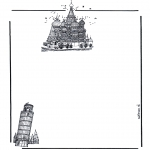 Håndarbejde - Writing paper buildings