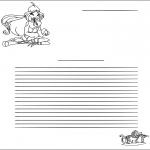 Håndarbejde - Writing paper Winx