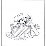 Jule-malesider - X-mas dog