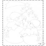 Jule-malesider - X-mas drawing