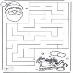 Jule-malesider - X-mas labyrinth 2