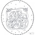 Jule-malesider - X-mas stitchingcard 4