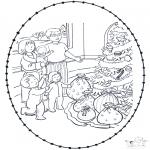 Jule-malesider - X-mas stitchingcard 7